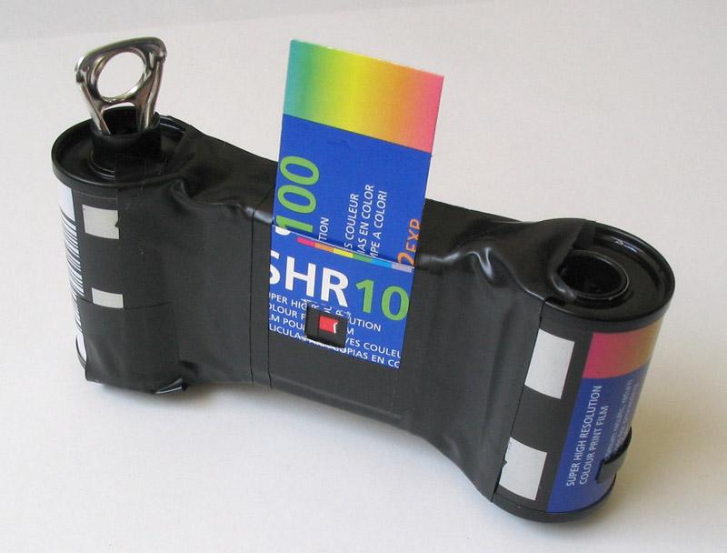 пинхол-камера из спичечного коробка
