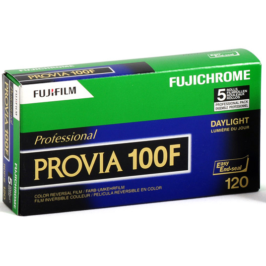 Fujichrome Provia 100F RDP-III тип-120 1