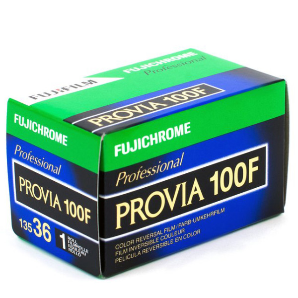 Fujichrome Provia 100F RDP-III тип-135 1