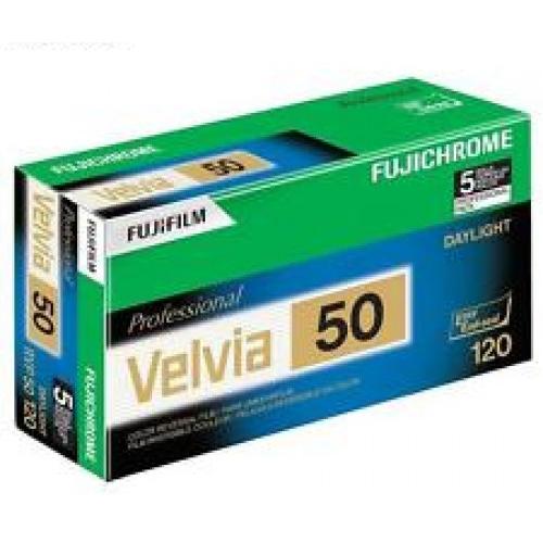 Fujichrome Velvia 50 тип-120