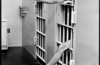 USA. New Jersey. Model prison of Leesburg. Solitary confinement. 1975.